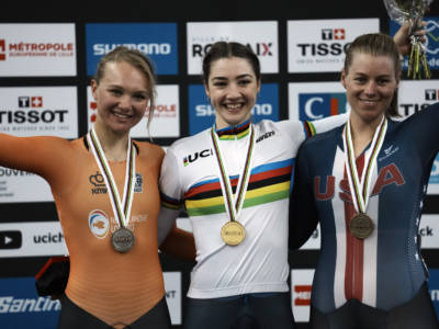 """Ciclismo su pista, Martina Fidanza: """"Un successo incredibile, che non ha paragoni con altri"""""""