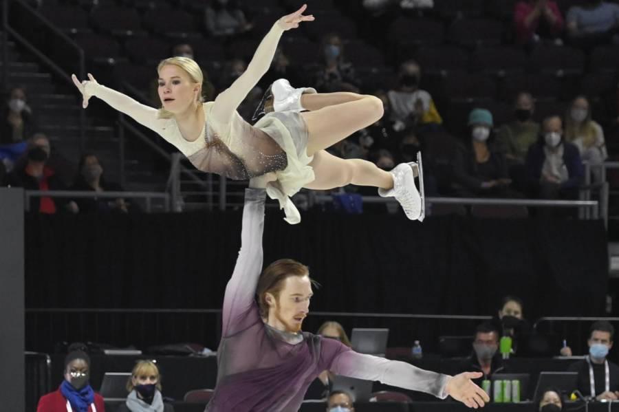 Pattinaggio artistico: Tarasova Morozv vincono la gara delle coppie a Skate America 2021. Exploit di Miura Kihara