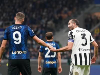 Inter-Juventus 1-1, Serie A: Dybala risponde a Dzeko, un punto a testa nel derby d'Italia