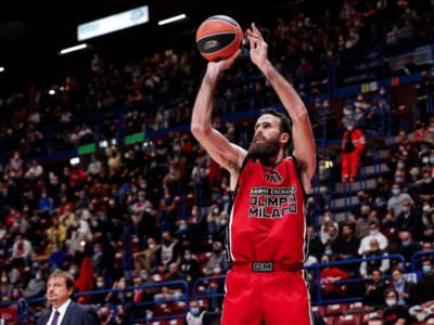 Olimpia Milano-Villeurbanne, Eurolega basket: programma, orario, tv, streaming