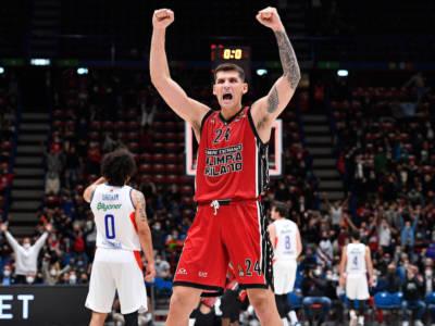 LIVE Olimpia Milano-ASVEL Villeurbanne 73-72, Eurolega basket in DIRETTA: Devon Hall sigla la tripla della vittoria milanese!