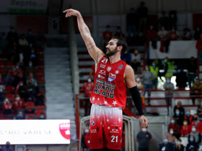 Basket: Riccardo Moraschini positivo al Clostebol, sospeso in via cautelare