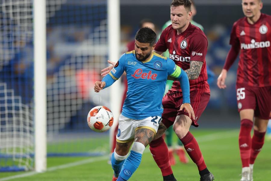 LIVE Napoli Legia Varsavia 2 0, Europa League in DIRETTA: Osimhen raddoppia grazie al solito Insigne!