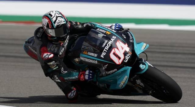 MotoGP, Andrea Dovizioso sta riprendendo confidenza. E nel 2022 avrà una Yamaha Petronas ufficiale…