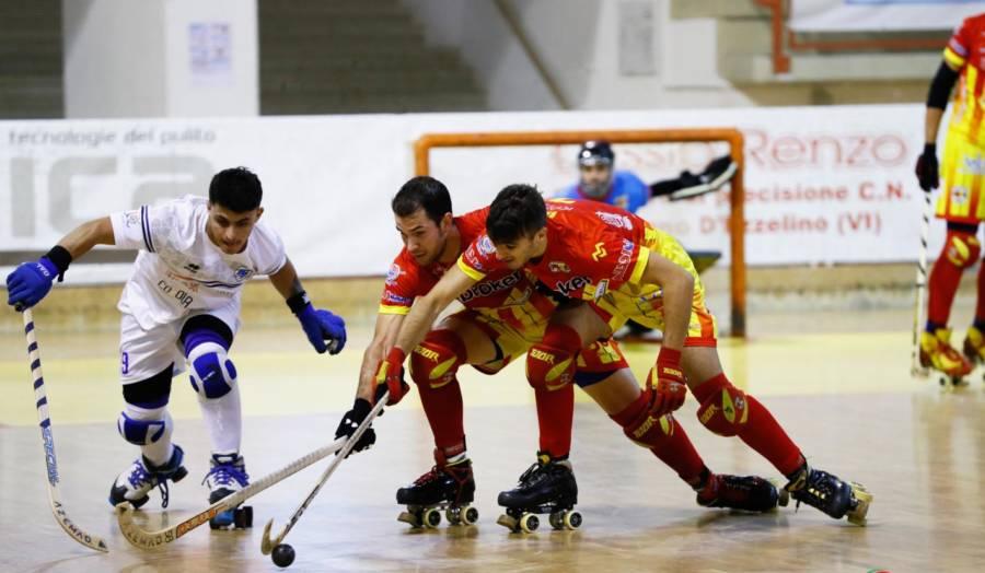 Hockey pista, Serie A1: Vercelli, colpaccio a Bassano nel posticipo della quarta giornata