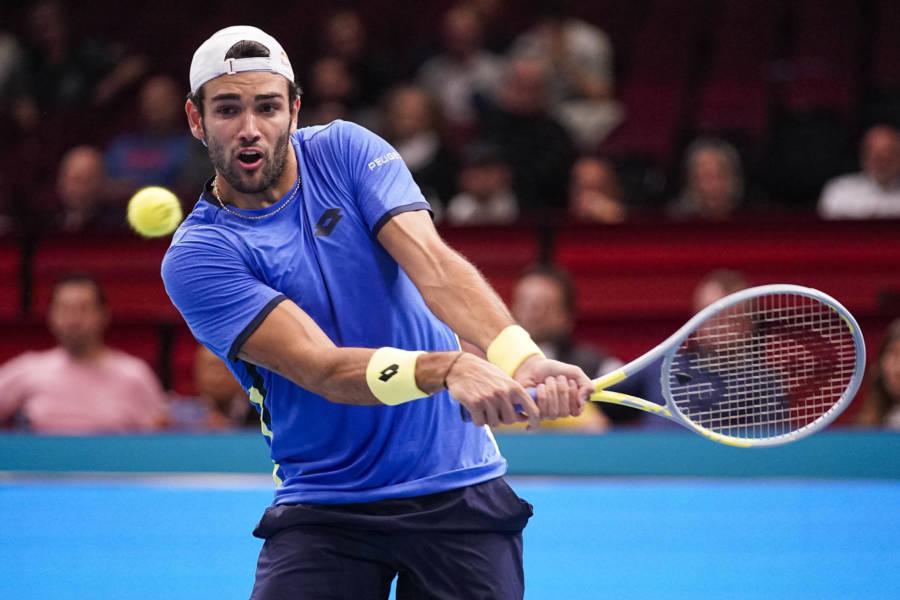 LIVE Berrettini Basilashvili, Atp Vienna in DIRETTA: Murray perde il primo set con Alcaraz! A seguire l'azzurro
