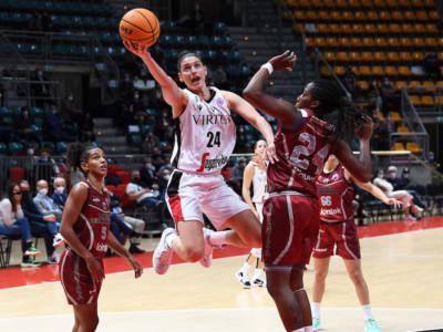 Basket femminile, EuroCup 2021-2022: Virtus Bologna e Dinamo Sassari sconfitte all'esordio