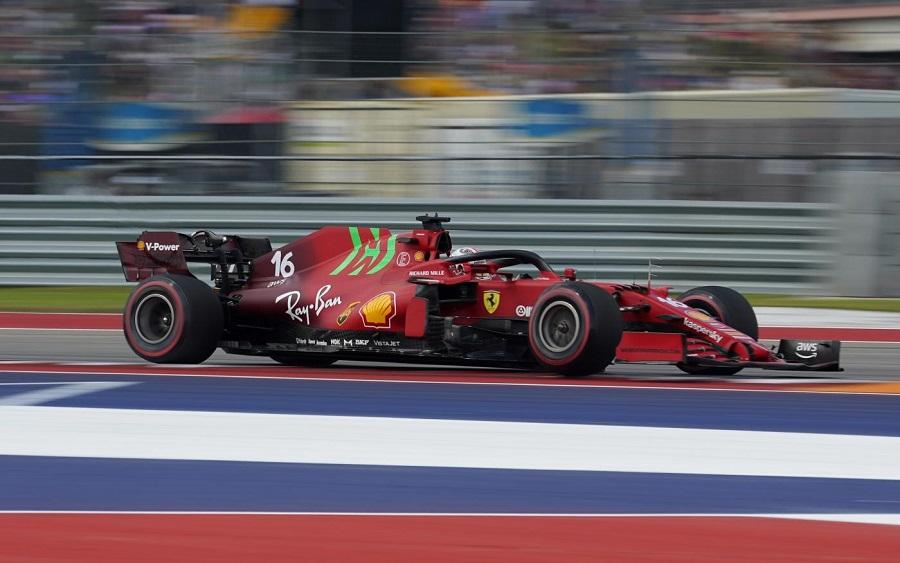 F1, Ferrari: un passo indietro rispetto alla Turchia. Venerdì sottotono ad Austin, problemi anche sul passo gara