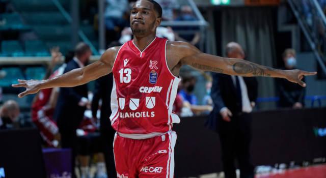 Basket, Europe Cup: Reggio Emilia supera l'Hapoel con un gran terzo quarto