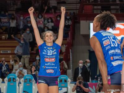 Volley femminile, le migliori italiane della 1. giornata di A1: Chirichella, Parrocchiale e Danesi sull'onda lunga degli Europei