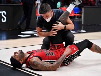Basket: Malcolm Delaney, stop di tre settimane per il play dell'Olimpia Milano