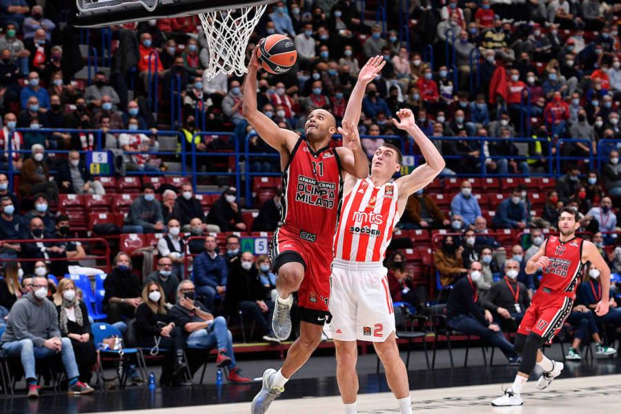 Basket, settima giornata Eurolega 2021/2022: pronto riscatto dell'Olimpia Milano, Stella Rossa battuta grazie ad un primo quarto perfetto!