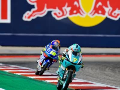 Moto2 e Moto3, risultati e classifica warm-up GP Americhe: McPhee e Raul Fernandez in testa. Bezzecchi 3°, Foggia 4°