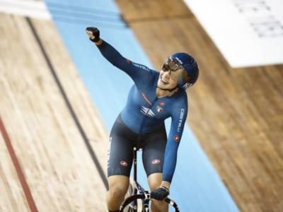 Mondiali ciclismo su pista: Martina Fidanza strepitosa nello scratch, quartetto azzurro per l'oro nell'inseguimento