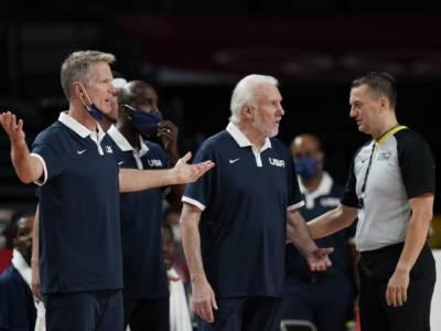 Basket: Steve Kerr potrebbe essere il sostituto di Gregg Popovich sia per Team USA sia per i San Antonio Spurs