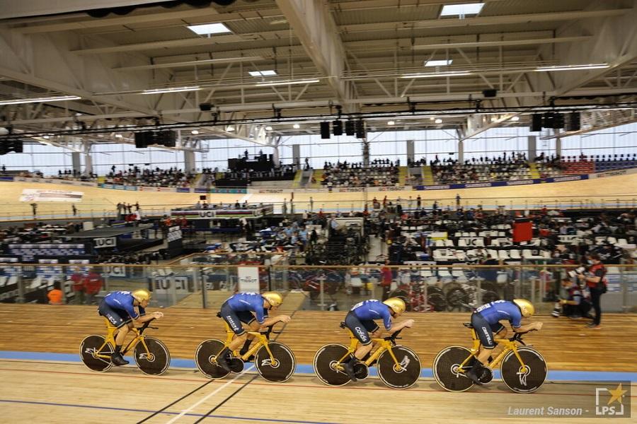 VIDEO Italia Francia, Finale Mondiali ciclismo su pista: il trionfo azzurro nell'inseguimento a squadre