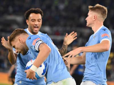 VIDEO Lazio-Inter 3-1, gol Serie A: highlights e sintesi. Le reti di Immobile, Felipe Anderson e Milinkovic-Savic ribaltano il match