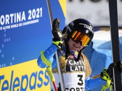"""Sci alpino, Laura Pirovano: """"Ho sentito un 'toc' e ho capito che il ginocchio era andato. Tornerò presto!"""""""