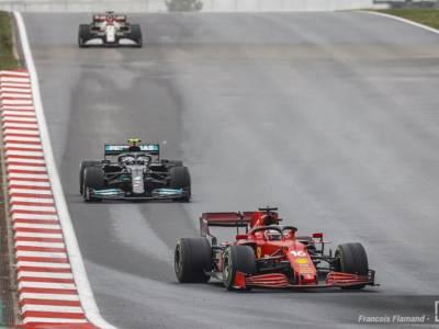 F1, strategia sbagliata della Ferrari a Istanbul con il senno del poi, ma valeva la pena rischiare…