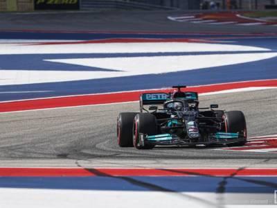 F1, Hamilton e Mercedes favoriti per la pole tra le buche di Austin, Ferrari serve un colpo di coda
