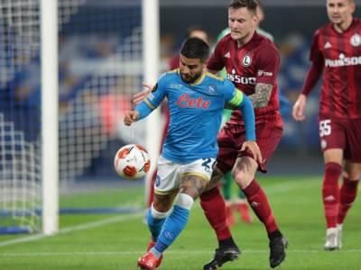 Calcio, tris del Napoli contro il Legia Varsavia, a reti bianche Lazio-Olympique Marsiglia