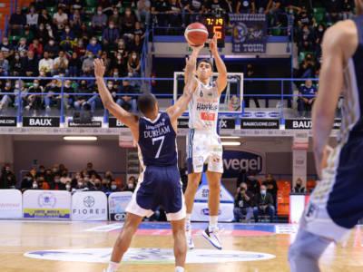 Basket, Serie A 2021-2022: Brindisi vince l'anticipo contro la Fortitudo Bologna