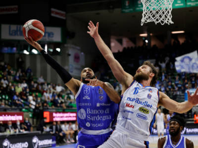 Basket, Serie A 201-2022: David Logan padrone dell'ultimo minuto, Dinamo Sassari corsara a Treviso