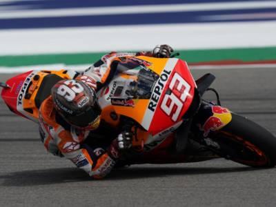 MotoGP, Marc Marquez domina il GP delle Americhe davanti a Quartararo che vede il titolo, Bagnaia 3°
