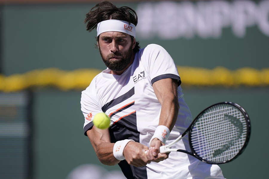 Masters1000 Indian Wells, Nikoloz Basilashvili sorprende Stefanos Tsitsipas e vola in semifinale