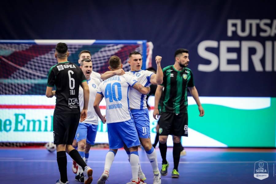 Calcio a 5, Serie A: nei posticipi della quinta giornata esultano Pescara e Olimpus Roma