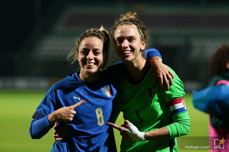 Calcio femminile, l'Italia prosegue il percorso netto con la Svizzera. La sfida di Palermo decisiva per il ...
