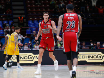 Basket: Olimpia Milano incontenibile, anche il Maccabi cade al Forum di Assago in Eurolega 2021-2022