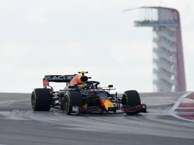 F1, Sergio Perez il migliore della FP3 ad Austin, super Carlos Sainz 2°. Charles Leclerc solo nono