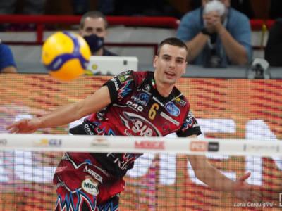 Volley, i migliori italiani della 1. giornata di Superlega: Galassi, Recine, Giannelli e Anzani, i re d'Europa non sbagliano un colpo