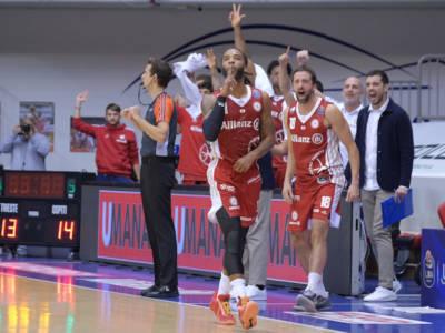 Basket, Serie A 2021-2022: Trieste vince nel finale, tutto facile per la Fortitudo Bologna