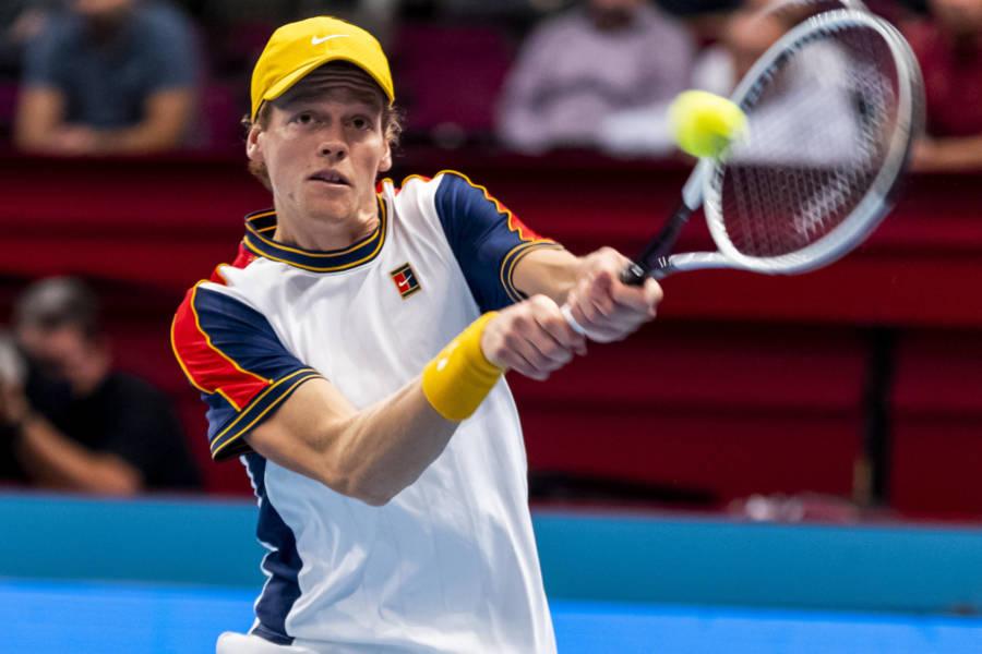 ATP Vienna, Jannik Sinner impressionante con la risposta! Che lezione ad Opelka: in questo fondamentale è già fra i primissimi al mondo