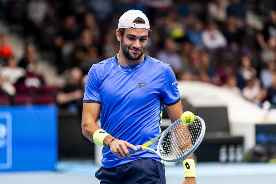 """Tennis, Matteo Berrettini: """"Sapevo che potevo giocare meglio e salire di livello con un po' più di tranquillità emotiva"""