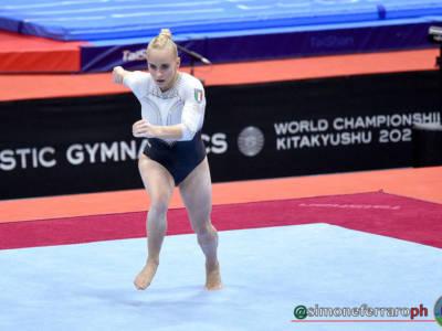 Alice D'Amato merita il diploma mondiale! E senza le cadute… Asia sfiora la top-10: testa al volteggio
