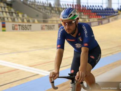 Ciclismo su pista: spettacolare corsa a punti per Elia Viviani, è bronzo nell'omnium. Quarte Alzini e Barbieri/Paternoster