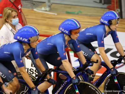 Mondiali ciclismo su pista 2021: splendido argento per il quartetto al femminile, la Germania chiude il Grand Slam