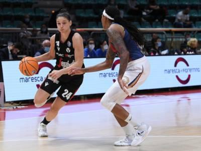 Basket femminile, 3^ giornata Serie A1 2021-2022: Campobasso espugna Bologna, Faenza batte Broni