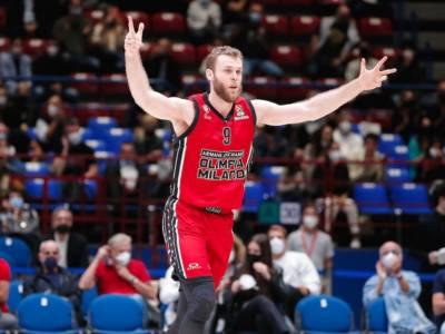 Basket, Eurolega 2021-2022: l'Olimpia Milano cerca il tris contro il Maccabi Tel Aviv