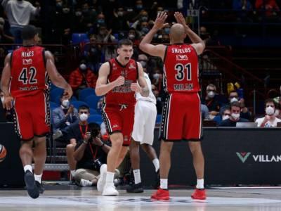 Basket, Eurolega 2021-2022: l'Olimpia Milano cala il poker, al Forum cede anche l'Efes