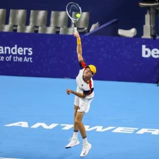 ATP Anversa 2021: Jannik Sinner vola in semifinale, Rinderknech dominato alla distanza