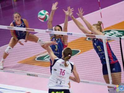 Volley femminile, Serie A1 2021-2022: Novara vincente, Casalmaggiore sorprende Scandicci, ok Trento e Roma