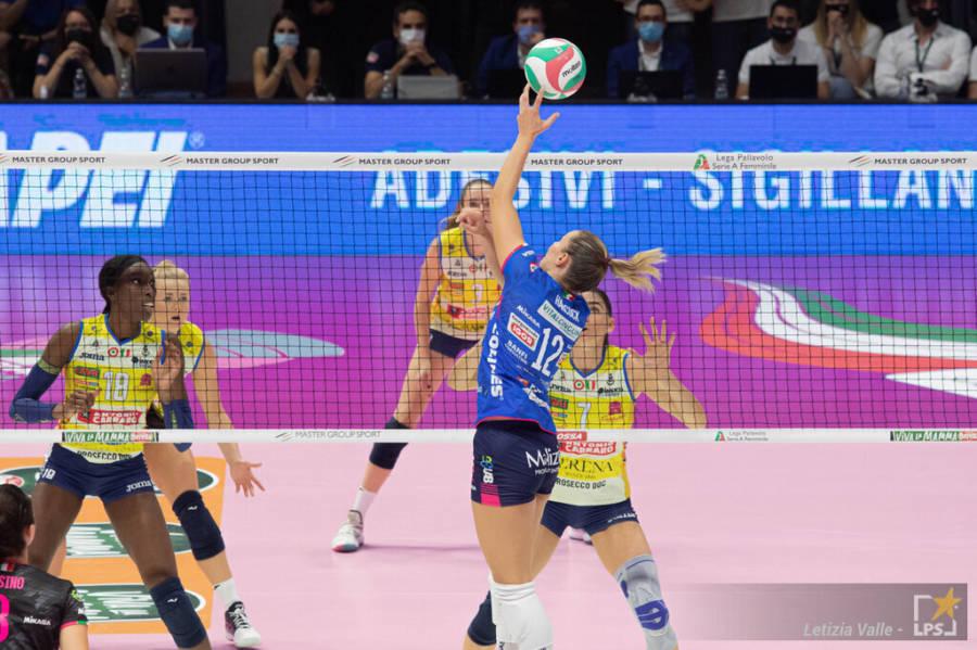 LIVE Conegliano Novara 3 0, A1 volley femminile in DIRETTA: le Pantere allungano la serie, sono 68 vittorie consecutive!