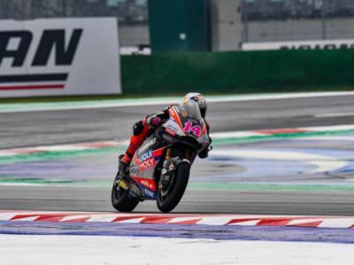 Moto2, risultati GP Emilia Romagna FP3: Arbolino e Bezzecchi guidano il gruppo sul bagnato