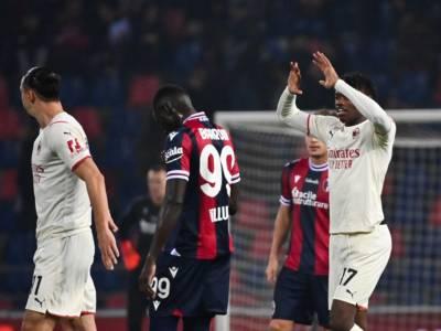 VIDEO Bologna-Milan 2-4, gol Serie A: highlights e sintesi. Partita folle e rossoneri vittoriosi al Dall'Ara