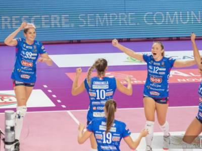 Volley femminile, Serie A1: Novara chiamata al test Casalmaggiore. Conegliano va a Roma per la vittoria n°67