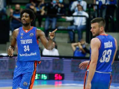 Basket, Champions League: Treviso corsara, battuta in trasferta l'AEK Atene